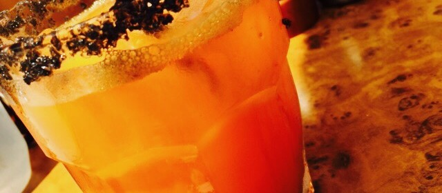 the carrot margarita & our love for the Beehive