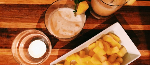 Summer's Final Days: The Coconut Pineapple (Mock)tail