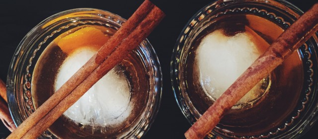 Fall Five: Spiced Rum Old Fashioned