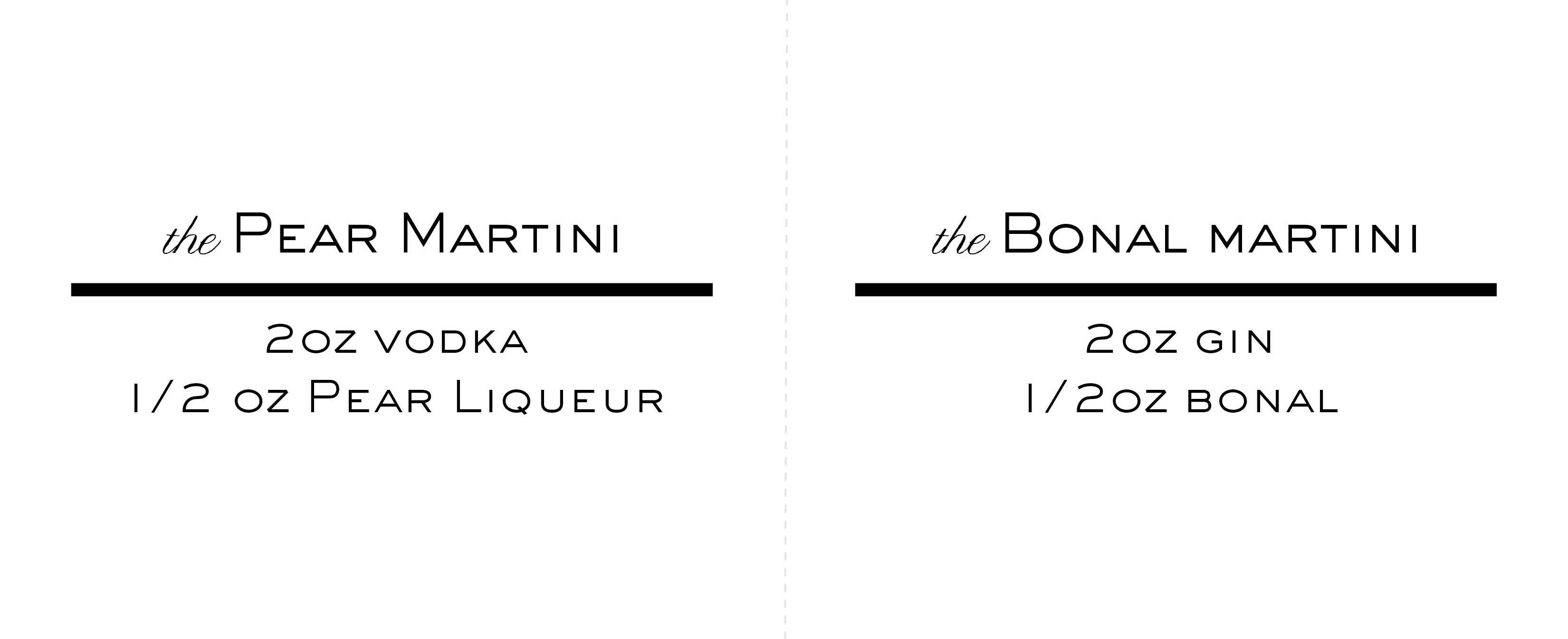 Martini Recipe Tent Cards4