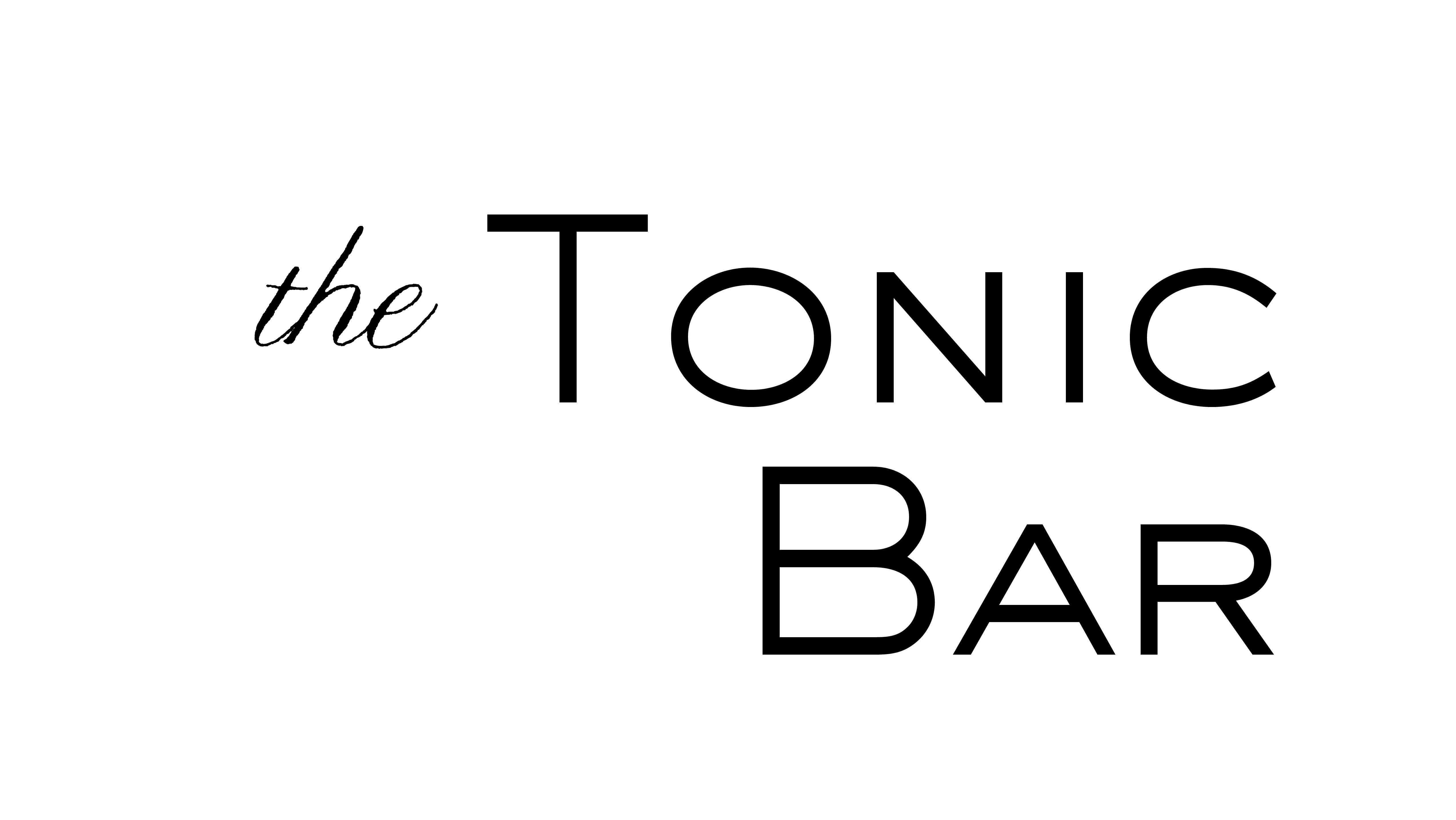 Tonic Bar Basics Tent Card2