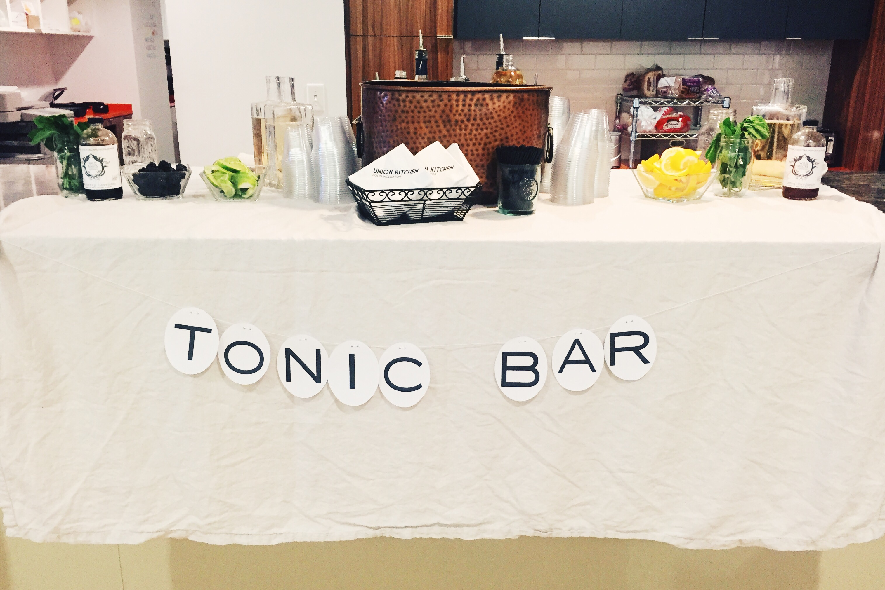Tonic Bar @ Opower