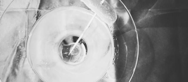 Spirits Week: Introduction and Vodka + Ginger Martini Cocktail Recipe