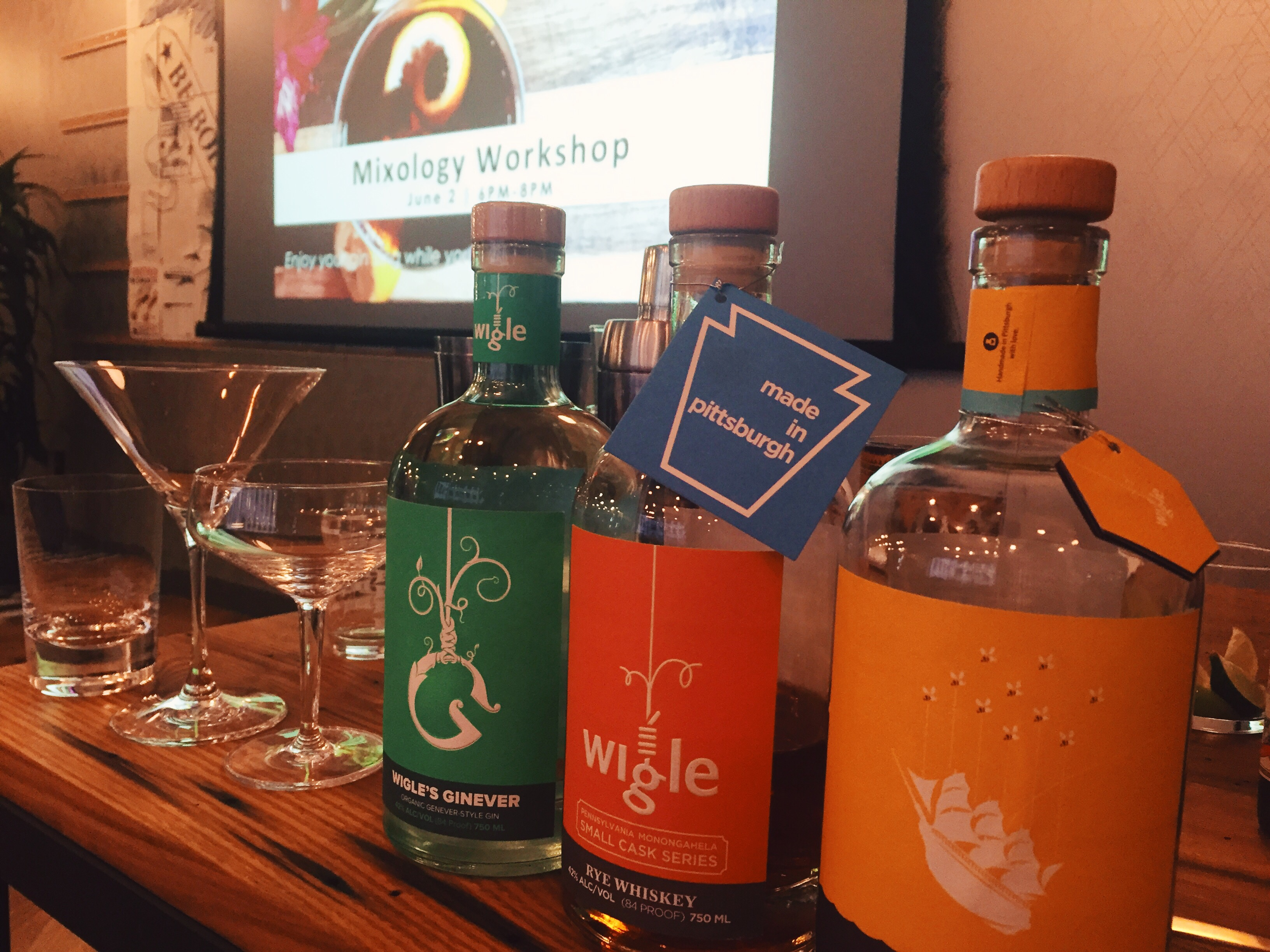 Cocktail Class with Wigle Whiskey