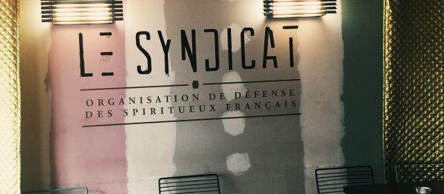 Drink Like the French: Le Syndicat in Paris