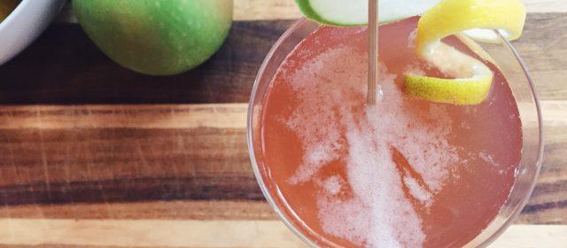 Guest Post: Super Easy Homemade Grenadine + Jack Rose Cocktail Recipe