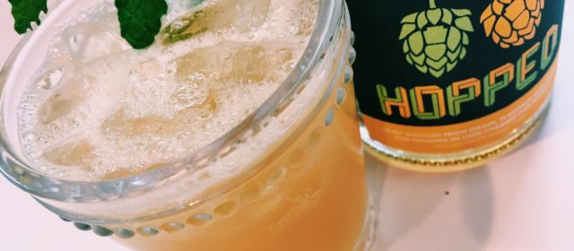 Hopped Whiskey + Hoppy Wallbanger Cocktail Recipe