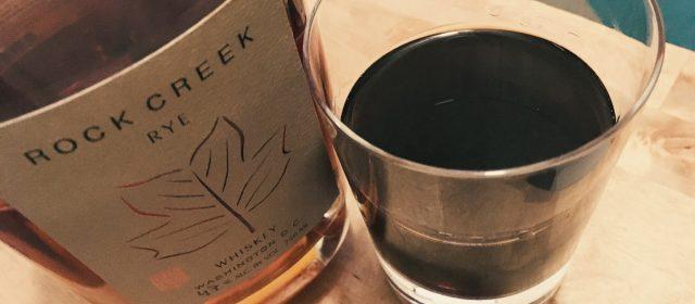 Rock Creek Rye + The District Cocktail Recipe