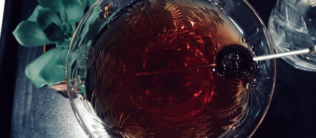 Liquor 101: Glass Rinsing + the Homburg Cocktail Recipe