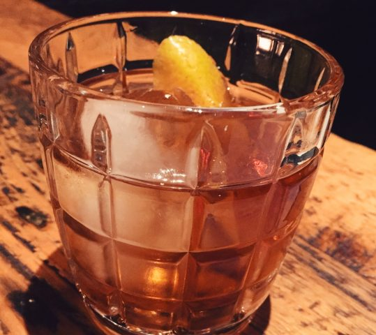 Where You Should Be Drinking in Boston: Ward 8 + Get Down Cocktail Recipe