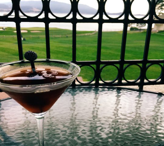 Where to Drink on the PCH: Pebble Beach + Semi-Black Manhattan Cocktail Recipe